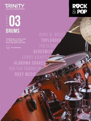 Trinity Rock and Pop 2018-20 Drums Grade 3 Partition laflutedepan