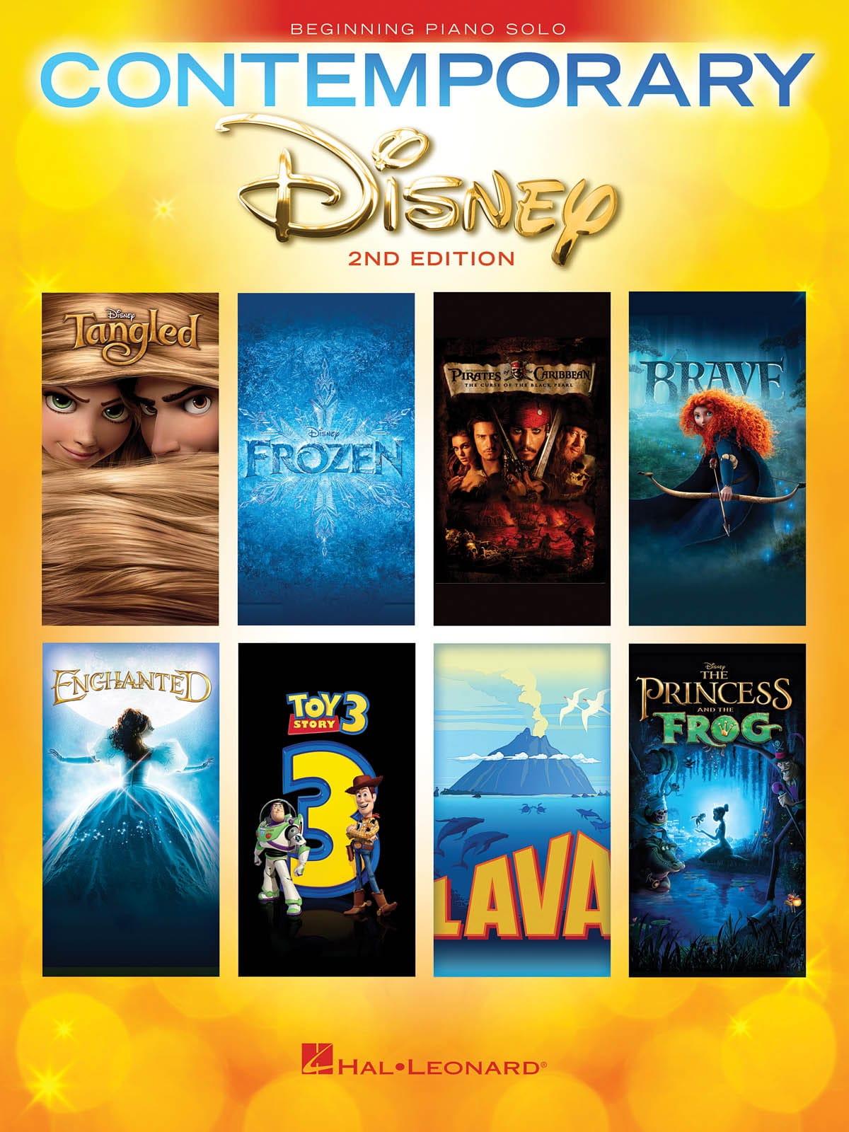 Contemporary Disney Solos - 2nd Edition - DISNEY - laflutedepan.com