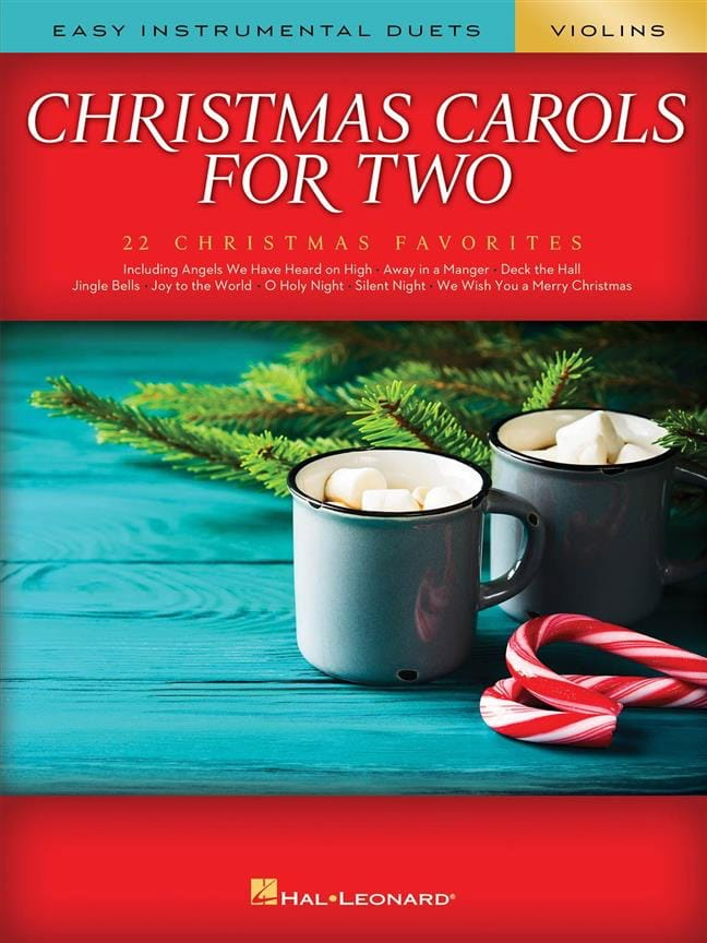 Christmas Carols for Two Violins - Noël - Partition - laflutedepan.com