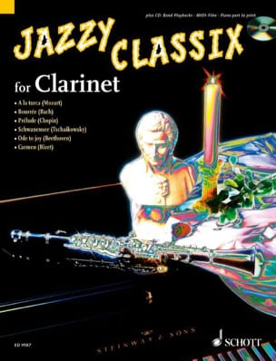 Jazzy Classicx Partition Clarinette - laflutedepan