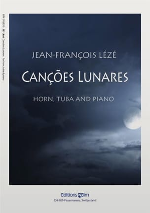 Cançoes Lunaires Jean-François Lézé Partition laflutedepan