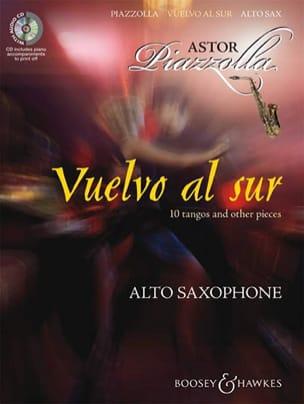 Vuelvo Al Sur Astor Piazzolla Partition Saxophone - laflutedepan