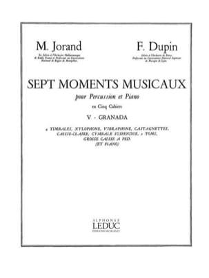 7 Moments Musicaux Volume 5 - Granada laflutedepan