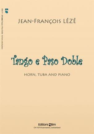 Tango e Paso Doble Jean-François Lézé Partition laflutedepan