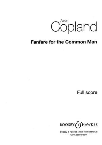 Fanfare for the Common Man - COPLAND - Partition - laflutedepan.com