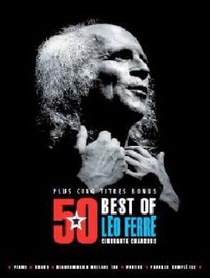 50 Best Of + 5 titres bonus - Léo Ferré - Léo Ferré - laflutedepan.com