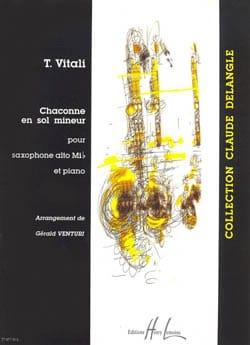 Chaconne En Sol Mineur - Tommaso Vitali - Partition - laflutedepan.com
