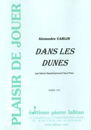 Dans les dunes Alexandre Carlin Partition Tuba - laflutedepan