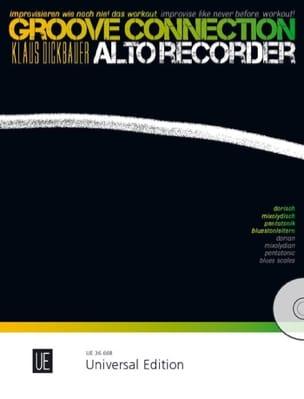 Groove Connection - Flûte à Bec Alto Klaus Dickbauer laflutedepan