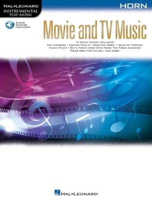 Movie and TV Music for Horn Partition Cor - laflutedepan