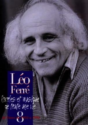 Paroles Et Musiques de Toute Une Vie Volume 8 1982-92 - laflutedepan.com