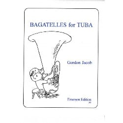 Bagatelles for Tuba Gordon Jacob Partition Tuba - laflutedepan