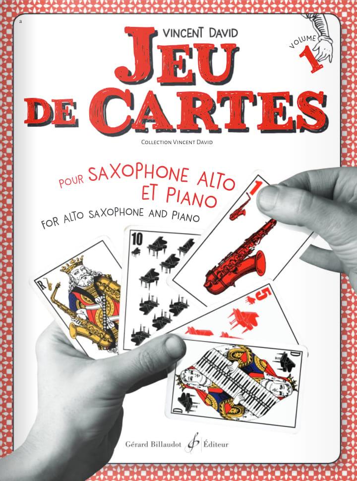 Jeu de cartes - Volume 1 - Vincent David - laflutedepan.com