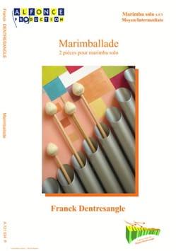 Marimballade Franck Dentresangle Partition Marimba - laflutedepan