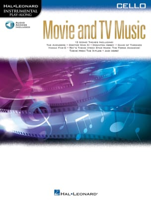 Movie and TV Music for Cello Partition Violoncelle - laflutedepan