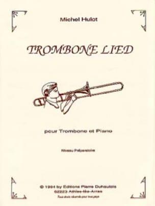 Trombone Lied - Michel Hulot - Partition - Trombone - laflutedepan.com