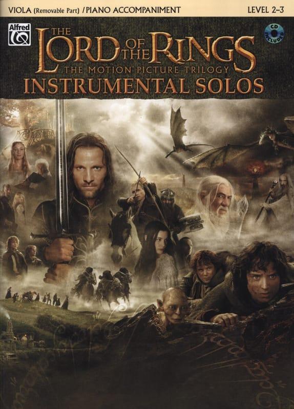 Le seigneur des anneaux - Instrumental solos - laflutedepan.com