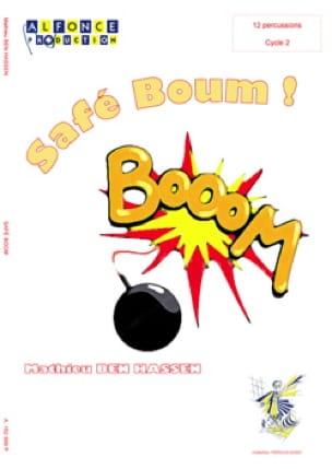 Safé boom ! - Hassen Mathieu Ben - Partition - laflutedepan.com