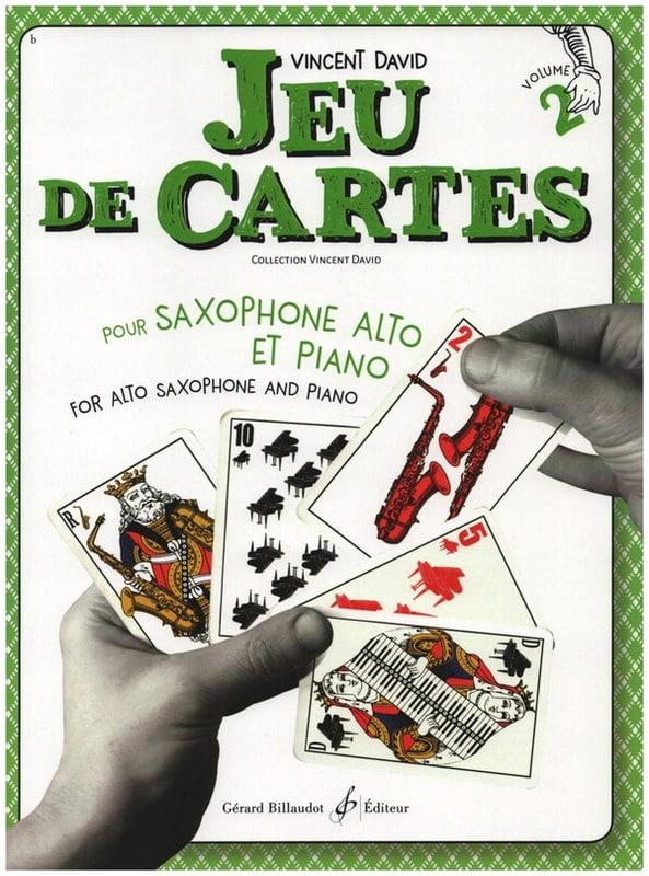 Jeu de cartes - Volume 2 - Vincent David - laflutedepan.com