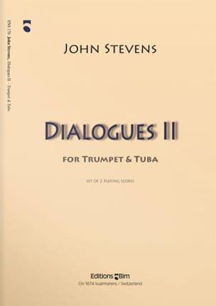 Dialogues 2 John Stevens Partition Ensemble de cuivres - laflutedepan