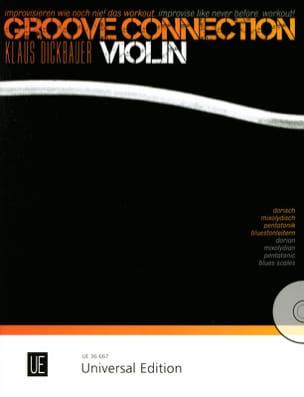 Groove Connection - Violon Klaus Dickbauer Partition laflutedepan