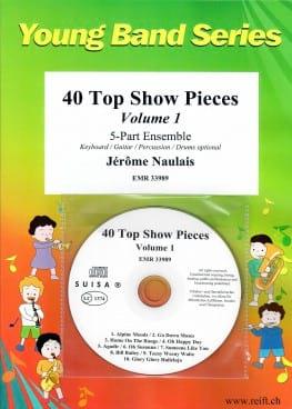 40 Top Show Pieces Volume 1 - Jérôme Naulais - laflutedepan.com