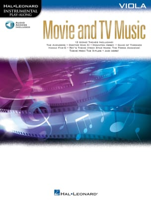 Movie and TV Music for Viola Partition Alto - laflutedepan