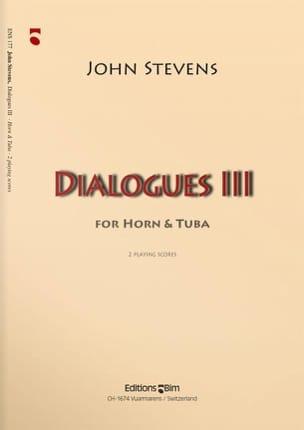 Dialogues 3 John Stevens Partition Ensemble de cuivres - laflutedepan