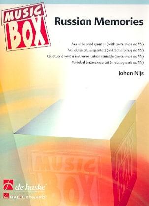 Russian memories - music box Johan Nijs Partition laflutedepan