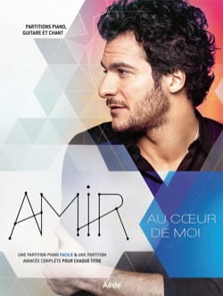 Au Coeur de Moi Amir Partition Chanson française - laflutedepan