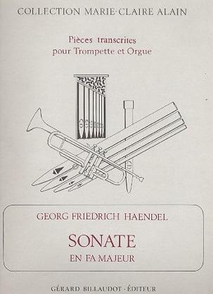 Sonate En Fa Majeur HAENDEL Partition Trompette - laflutedepan