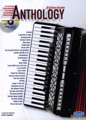 Anthology volume 1 Partition Accordéon - laflutedepan