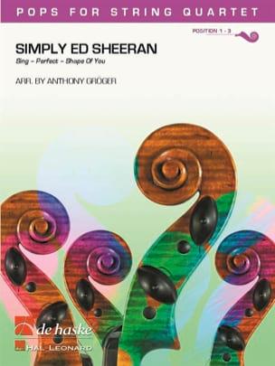 Simply Ed Sheeran - Pops for String Quartet Ed Sheeran laflutedepan