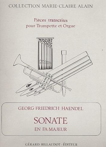 Sonate En Fa Majeur - HAENDEL - Partition - laflutedepan.com