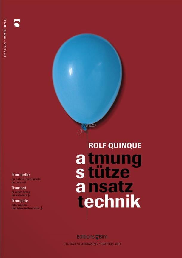 Asa Technik - Rolf Quinque - Partition - Trompette - laflutedepan.com