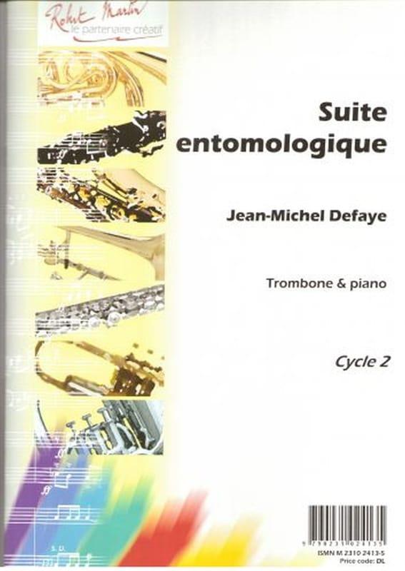 Suite Entomologique - Jean-Michel Defaye - laflutedepan.com
