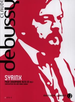 Syrinx DEBUSSY Partition Saxophone - laflutedepan