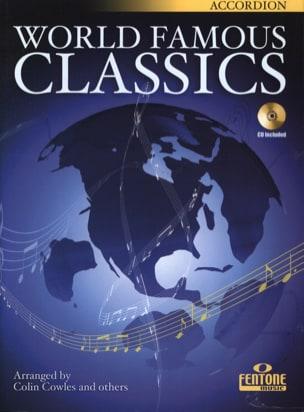 World famous classics Partition Accordéon - laflutedepan