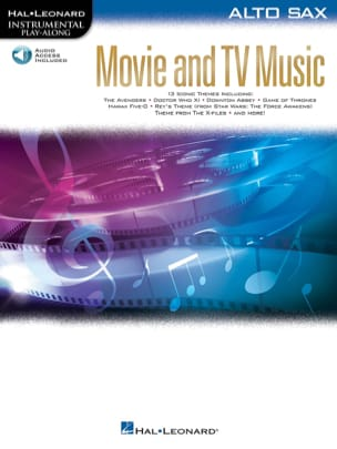 Movie and TV Music for Alto Sax Partition Saxophone - laflutedepan