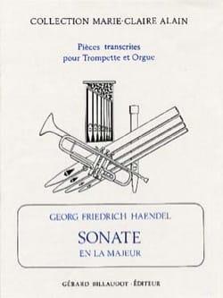 Sonate En la Majeur - HAENDEL - Partition - laflutedepan.com