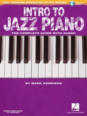 Intro to Jazz Piano Mark Harrison Partition Jazz - laflutedepan