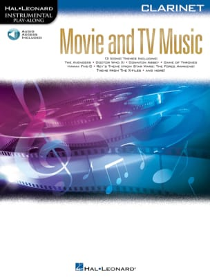 Movie and TV Music for Clarinette Partition laflutedepan