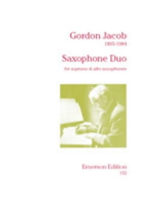 Saxophone Duo - Gordon Jacob - Partition - laflutedepan.com