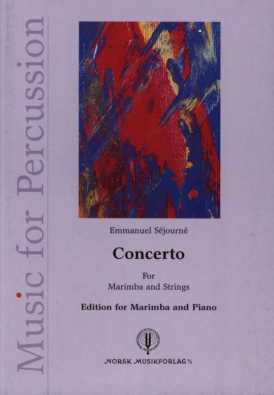 Concerto for marimba et orchestre à cordes - laflutedepan.com