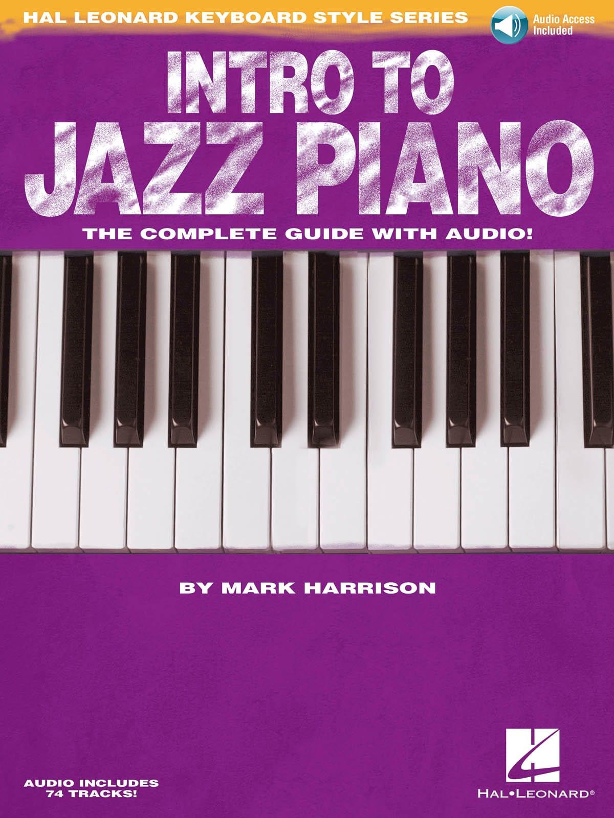 Intro to Jazz Piano - Mark Harrison - Partition - laflutedepan.com