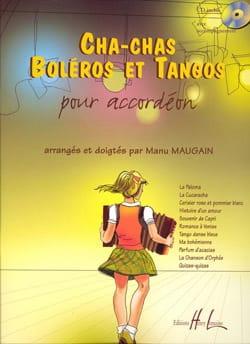 Cha-Chas Boléro Et Tangos Partition Accordéon - laflutedepan