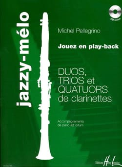 Jazzy-Mélo - Conducteur et Parties Michel Pellegrino laflutedepan