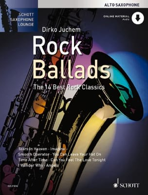 Rock Ballads Partition Saxophone - laflutedepan