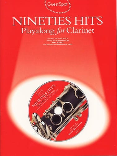 Nineties Hits Playalong For Clarinet - laflutedepan.com