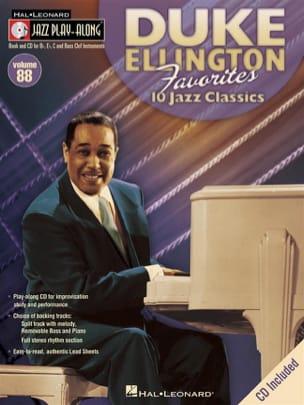 Duke Ellington - Jazz Play-Along Volume 88 - Duke Ellington Favorites - Partition - di-arezzo.com